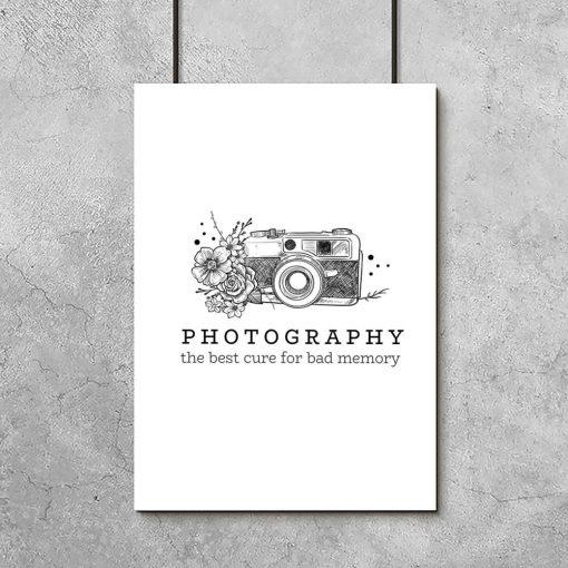 plakat dla pasjonatów fotografii
