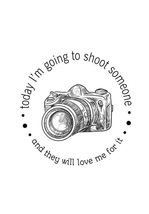 plakat dla fotografa