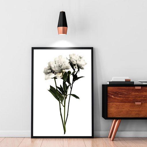 plakat ścienny jako dekoracja botaniczna