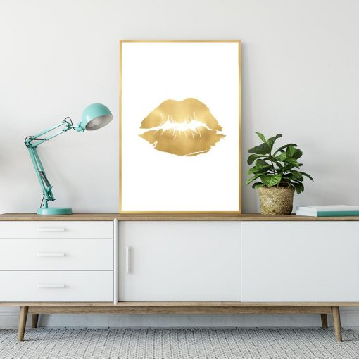złoty plakat