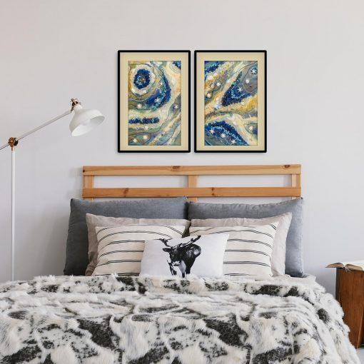 Obraz w sypialni ewy turowskiej reprodukcja