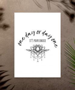 plakat typograficzny