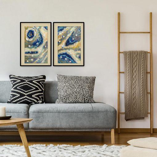 żywica abstrakcja ewa turowski art
