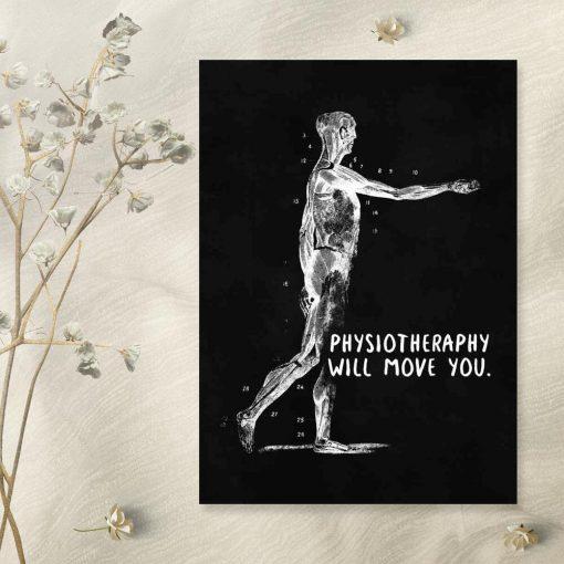 Plakat anatomiczny - Physiotheraphy