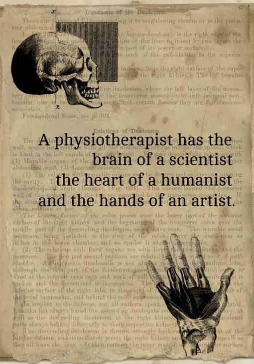 Plakat - Physiotherapist