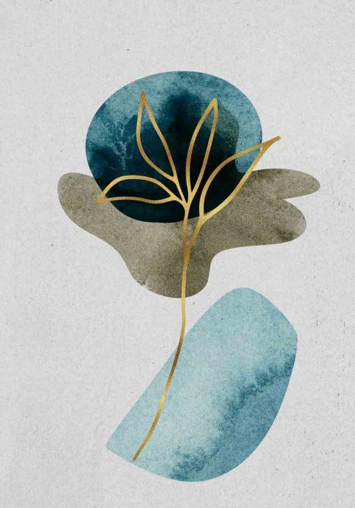 Plakat - Złota roślina