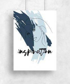 Plakat z typografią - Inspiration