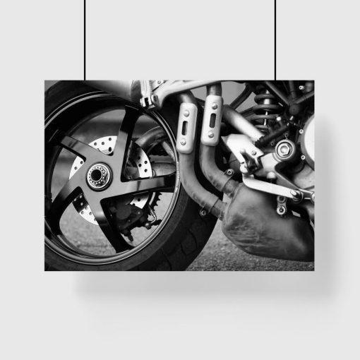 Plakat - Motor dla mężczyzny