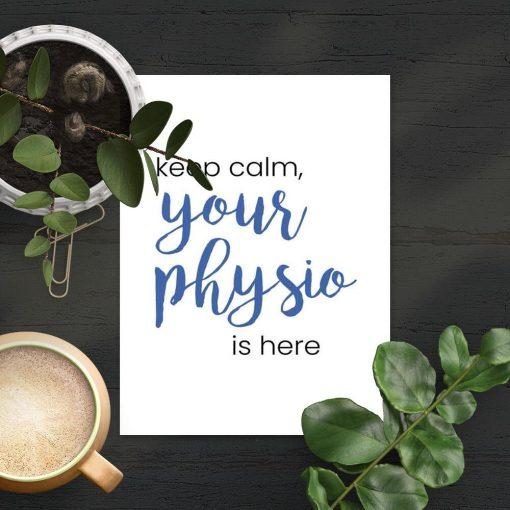 Plakat - Twój fizjoterapeuta