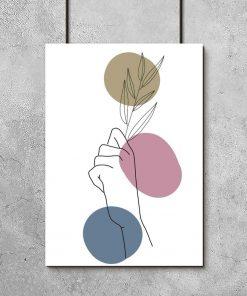 Plakat - Dłoń