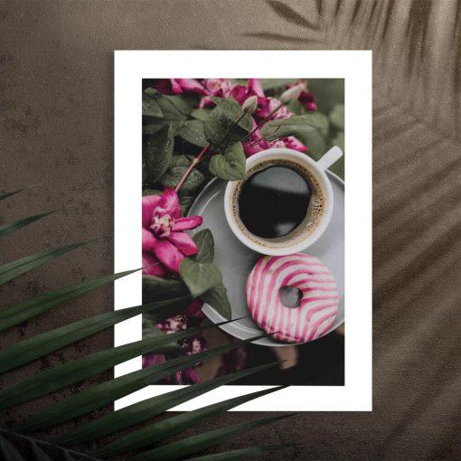 Plakat z kawą do kawiarni