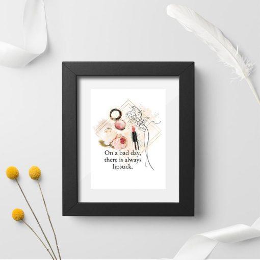 Plakat typograficzny do sypialni - Pomadka