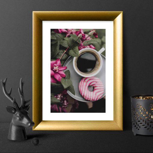 Plakat z kawą do salonu