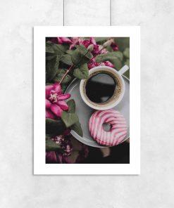 Plakat z kawą do pokoju