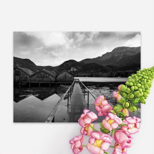Plakat do biura - Jezioro Bawarii