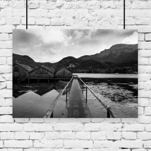 Plakat do salonu - Jezioro Bawarii