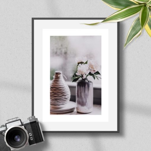 Plakat do sypialni - Wazon z kwiatami