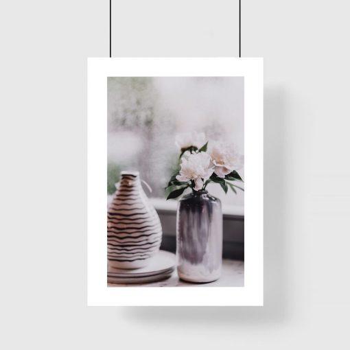 Plakat do pokoju - Wazon z kwiatami