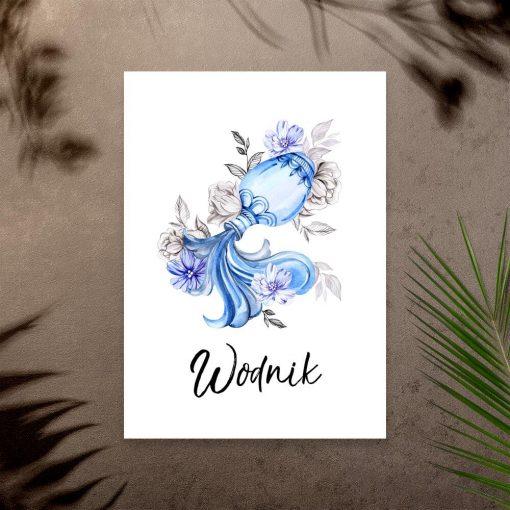Plakat do salonu - Wodnik