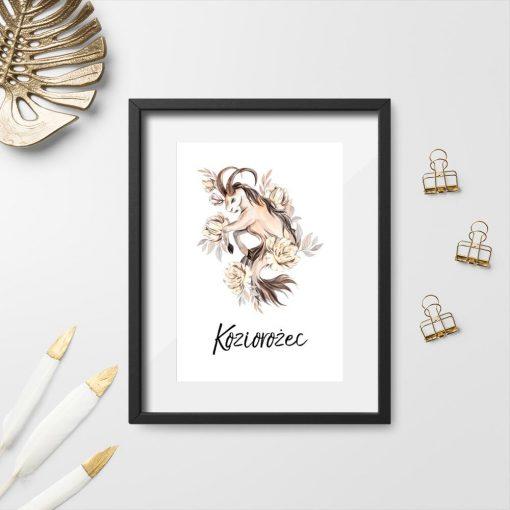 Plakat na prezent - Koziorożec
