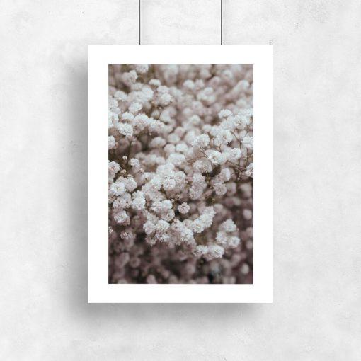 Plakat do pokoju - Kwiatki