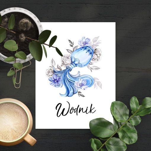 Plakat na prezent - Wodnik
