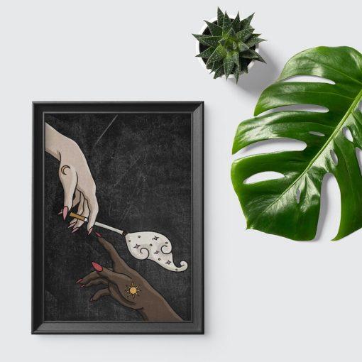 Plakat do pokoju - Cigarette