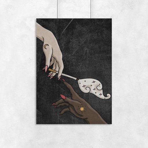 Plakat do salonu - Cigarette