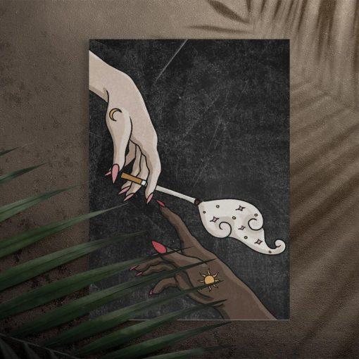 Plakat do przedpokoju - Cigarette