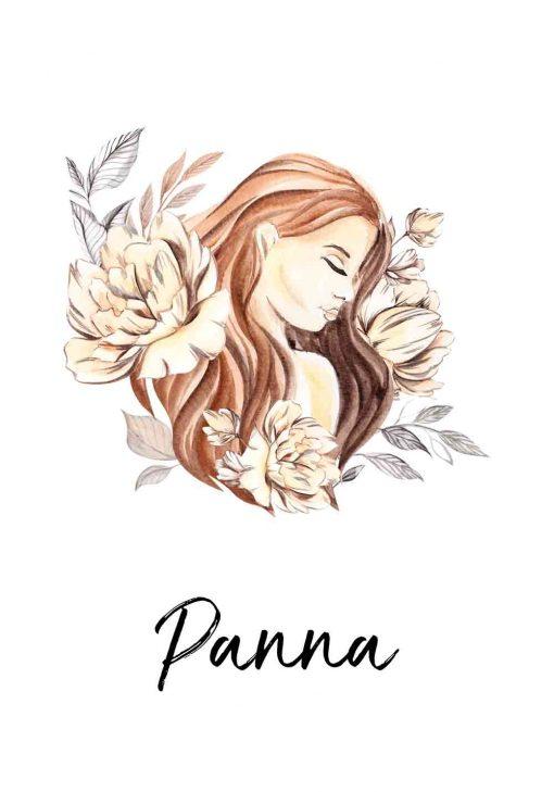 Plakat - Panna