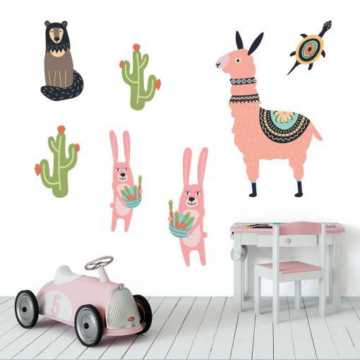 Naklejki dla dzieci - Lama