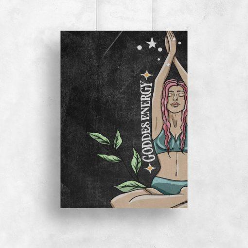Plakat do salonu - Good energy