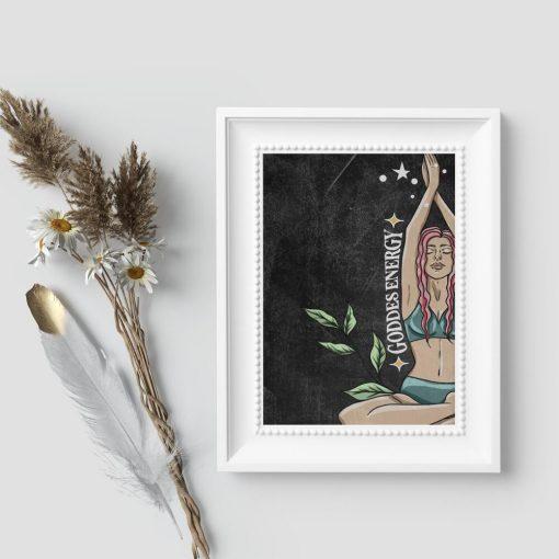 Plakat na prezent - Good energy
