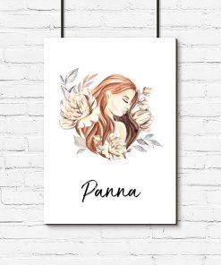 Plakat do salonu - Panna