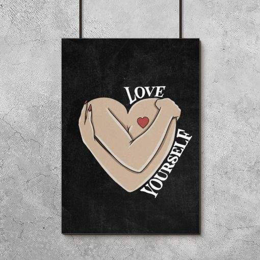 Plakat do pokoju - Love yourself