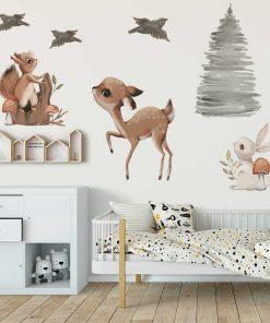 Naklejki dla dziecka - Motyw leśny
