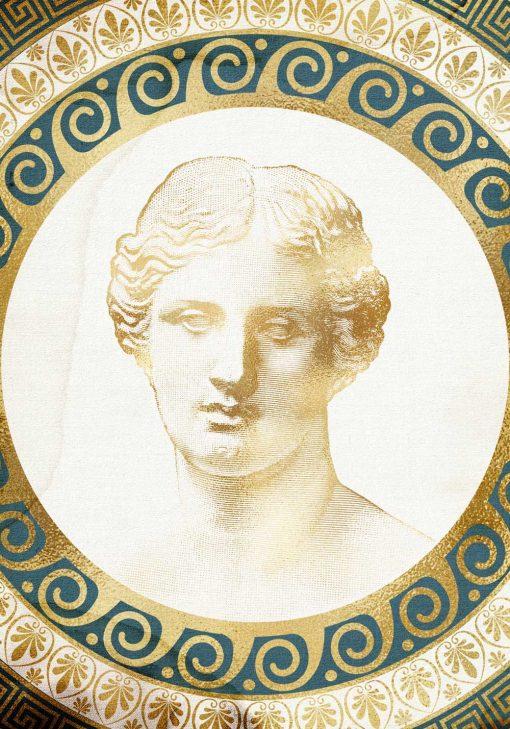 Plakat z wizerunkiem młodego mężczyzny