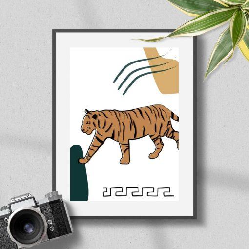 Tygrys z fauną