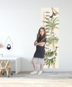 Zielone palmy - Miarka wzrostu dla dzieci