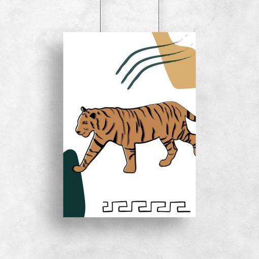 Plakat ze zwierzęciem