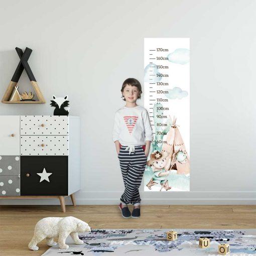 Bajkowy szeryf - Miarka wzrostu dla dzieci