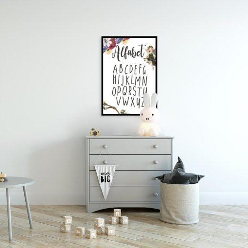 Plakat dla dzieci z typografią