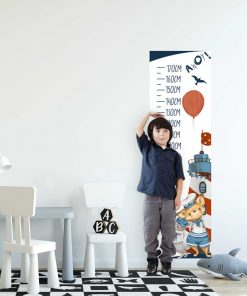 Miarka wzrostu dla chłopców - Króliczek marynarz