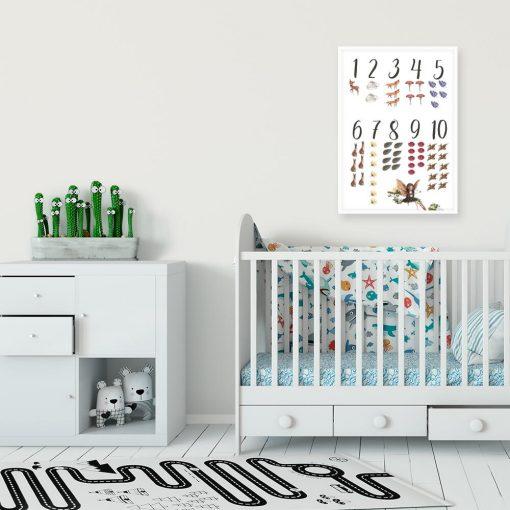 Plakat jako pomoc naukowa dla dzieci