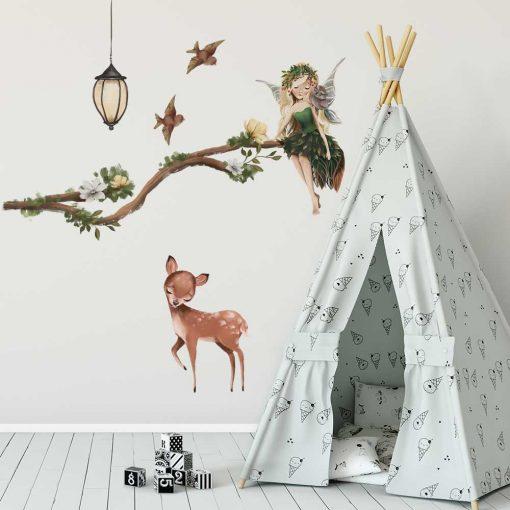 Naklejki dla dzieci z leśnym motywem
