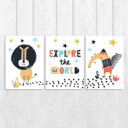 Poster edukacyjny dla dzieci