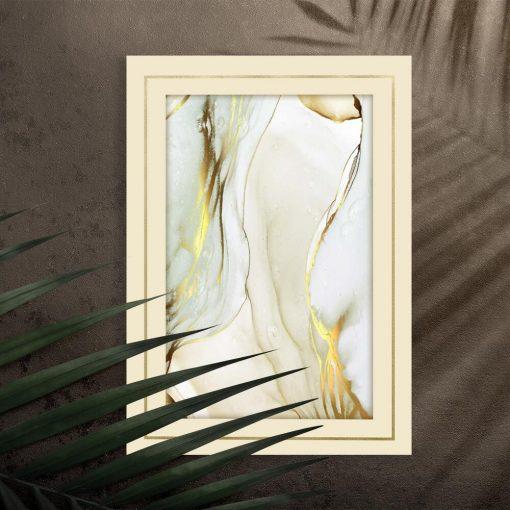 Plakat z abstrakcyjną kompozycją