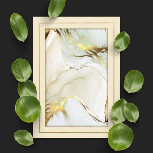 Plakat do sypialni z abstrakcją