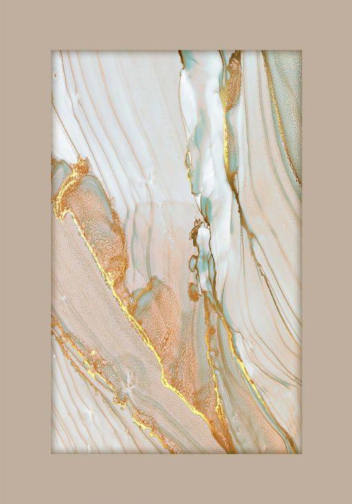 Wielobarwny marmur - poster