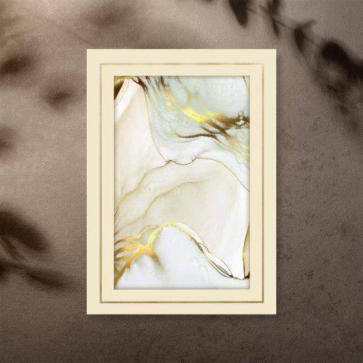 Plakat do salonu z marmurem